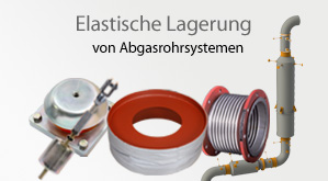 teaser 2 - elastic support - exhaust pipe systems - de